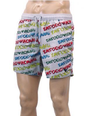 Мужские пляжные шорты Armani  211740 0P431 02730