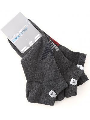 Мужские носки короткие (набор 3 шт.) Armani 300008 9a234-09449