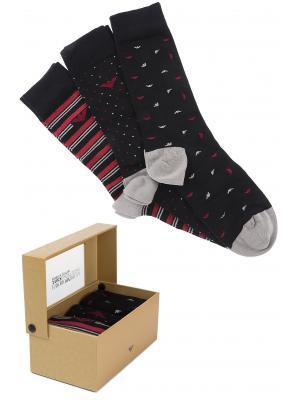 Мужские носки в подарочной упаковке (набор 3 шт.) Armani 302402 9a282 05720