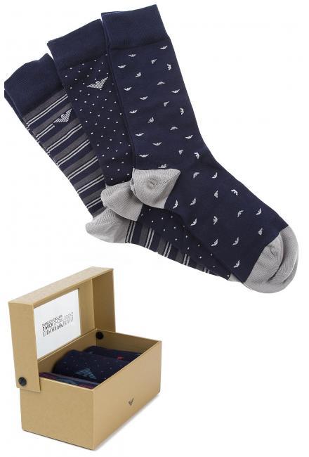 Мужские носки в подарочной упаковке (набор 3 шт.) Armani 302402 9a282 10735