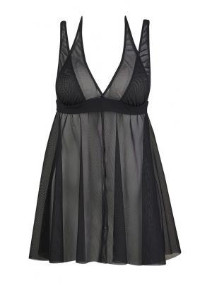 Сорочка Бэби-долл Aubade Boite a Desir P042 noir