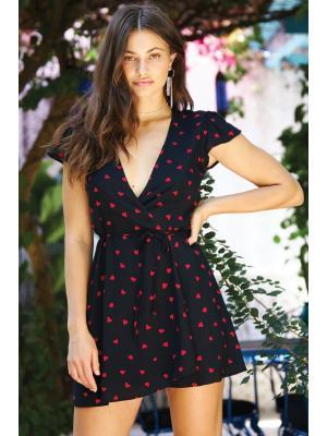 Платье на запах Beach Bunny Teagan S201D1-s