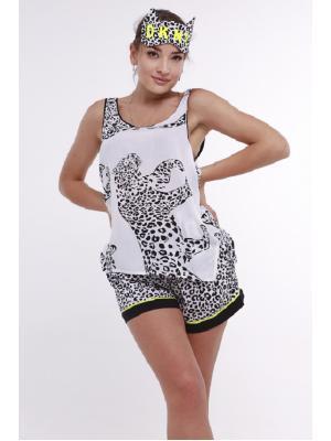 Пижама (майка, шорты, маска) DKNY  2822474
