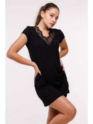 Ночная рубашка с кружевом Ef 0210-b