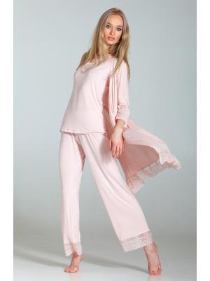 Пижама трикотажная с кружевом Ef-0258