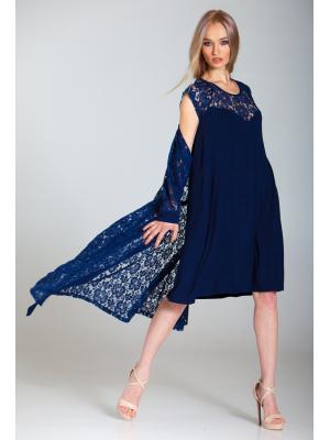 Домашний комплект: гипюровый халат и ночная рубашка Ef-0268/69