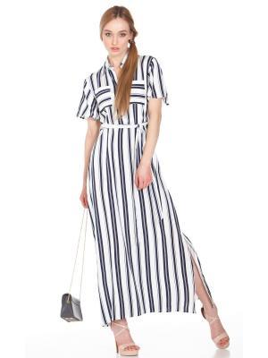 Платье-рубашка в полоску FC1441-1V