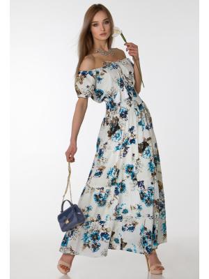 Платье с широкой резинкой на талии FC472I-2C