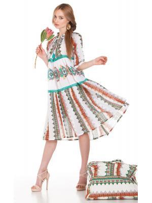 Платье-туника с орнаментом FC1142A-1C
