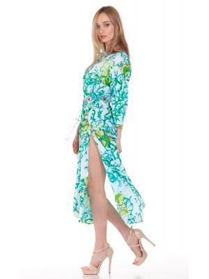 Платье-туника в зеленых тонах FC1237i-1C