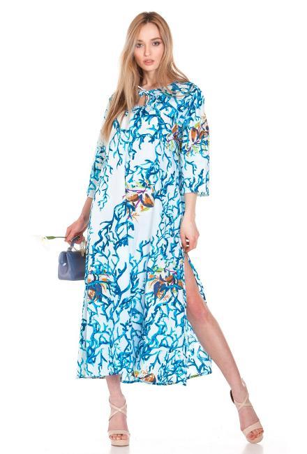 Платье-туника в голубых тонах FC1237i-2C