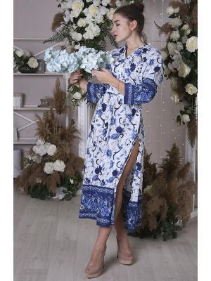 Платье-туника в синих тонах i2528N-30C