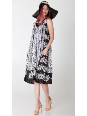 Платье-сарафан черно-белое FC704l-1v