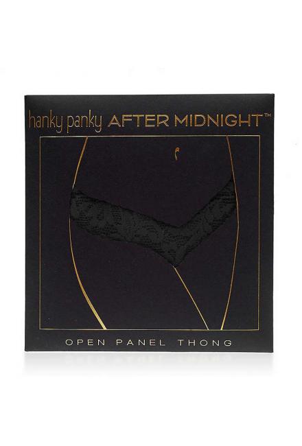 Эротические стринги в подарочной упаковке Hanky Panky 4x1001pk