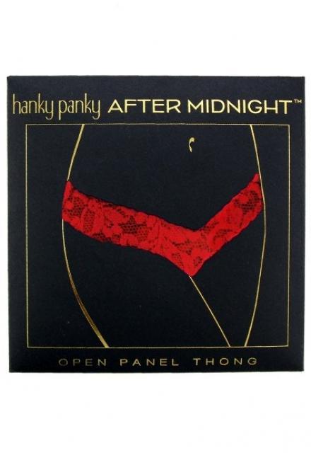 Эротические стринги в подарочной упаковке Hanky Panky 4x1001pk-r