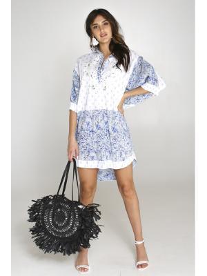 Платье-туника свободного кроя 2162A-10C