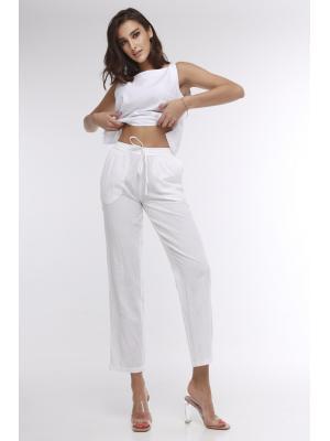 Летние белые брюки 21A-248/1L