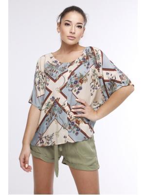 Блуза с коротким рукавом 21NI-384V