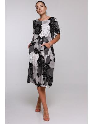 Платье  свободного кроя  I 21NI-330V