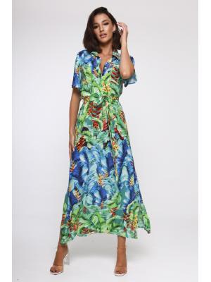 Платье-туника с коротким рукавом 21NI-364V