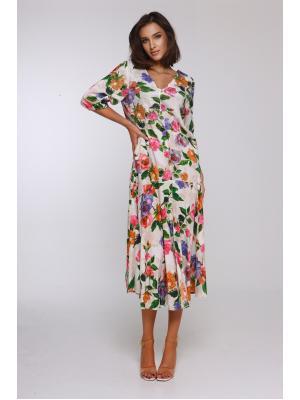 Платье с глубоким вырезом 21NI-365/1V