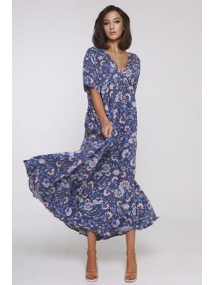 Платье nмногоярусное 21NI-368V