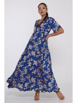 Платье nмногоярусное 21NI-370/1V
