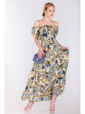 Платье с широкой резинкой на талии FC472I-3C