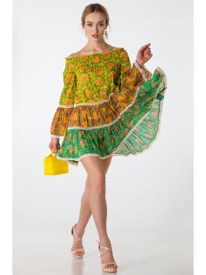 Многоярусное платье-туника A1186a-1c
