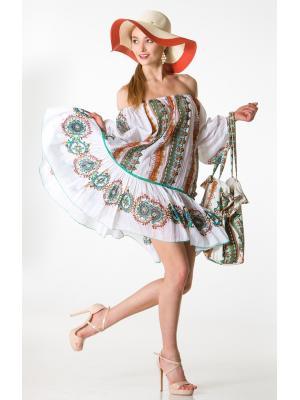 Платье-туника с оборкой FC1143a-1c