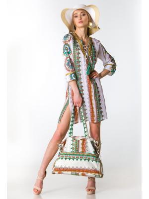Платье-туника с орнаментом FC1144a-1c