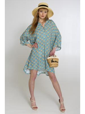 Платье-туника со цветочным принтом L0963-g