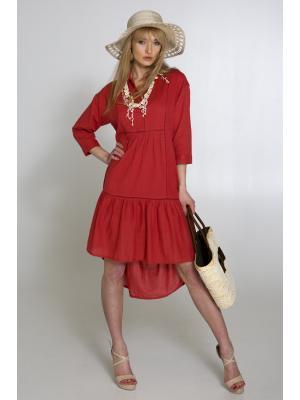 Платье-туника с удлиненной спинкой Wiya 20006-r