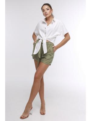Рубашка  белого цвета J-6041