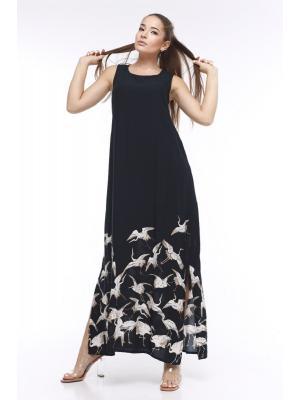 Платье-макси без рукава Jolie 71198