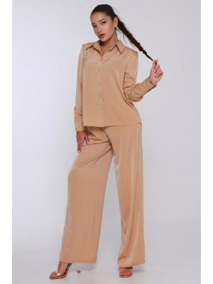 Женский классический костюм  Jolie 6025- beige