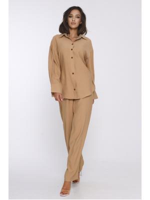 Женский классический костюм  Jolie 6044- beige