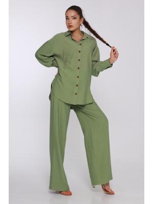 Женский классический костюм  Jolie 6044-olivka