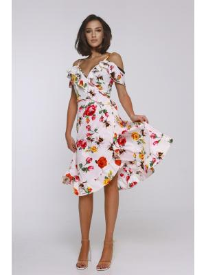 Платье-сарафан на запах Jolie-6886-r