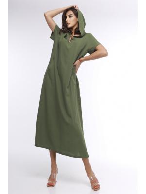 Платье с коротким рукавомJ 7028-h