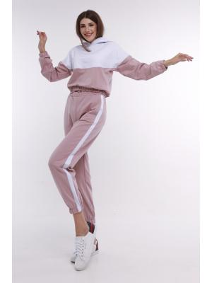 Женский костюм с капюшоном (Худи, брюки) Jolie 33220