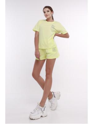 Женский костюм с (футболка,шорты) Jolie 6065-l