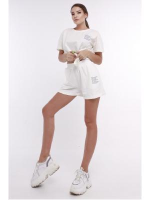 Женский костюм с (футболка,шорты) Jolie 6065-m
