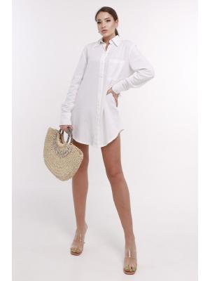 Рубашка белого цвета Jolie 6901