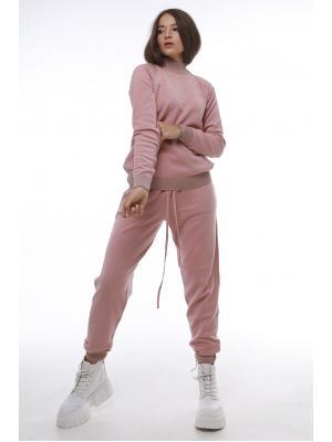 Женский костюм (Свитер, брюки) 47054-rose