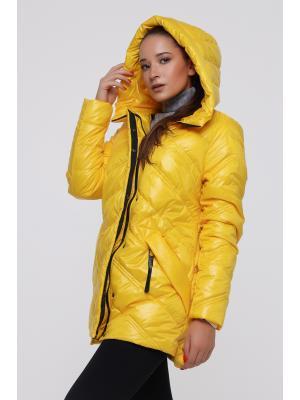 Куртка удлиненная с капюшоном LY 202-ye