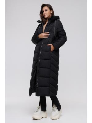 Пальто длинное  утепленное LY201