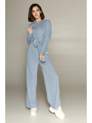 Женский костюм с брюками палаццо (Свитер, брюки) Jolie 3423-b