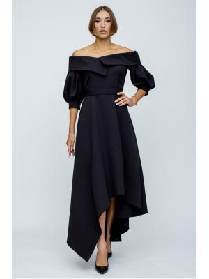 Платье с асимметричным низом 5047