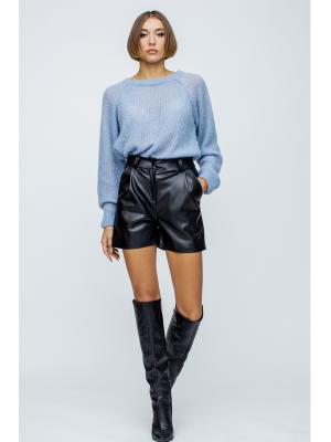 Кожаные шорты Jolie Кюмель